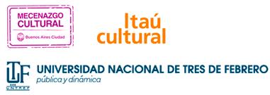 Logos Mecenazgo,Itaú y Untref